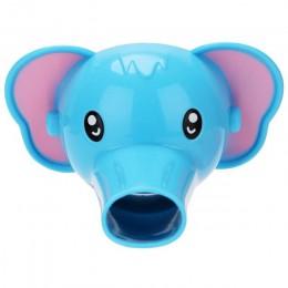 1 sztuk Cute Animal Duck Elephant kształt delfina przedłużacz do kranu wody z kranu Extender dla dzieci dzieci mycie rąk łazienk