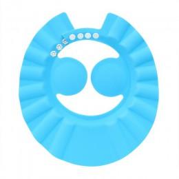 Bezpieczny miękki kapelusz regulowany Baby Shower tarcza kapelusz czepki kąpielowe szampon dla dzieci Cap ochrona słuchu produkt