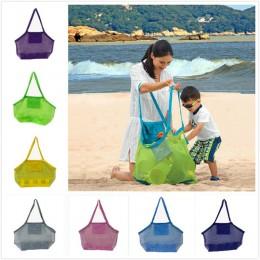 11 kolorów torby do przechowywania dla dzieci siatka shell piaszczysta plaża muszla torba dla dzieci torba do przechowywania zab