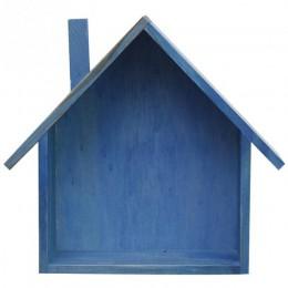 Kreatywna drewniana ściana Decor retro kolorowe dom w kształcie półki półki drewniane dzieci sypialnia rzemiosło artystyczne pół
