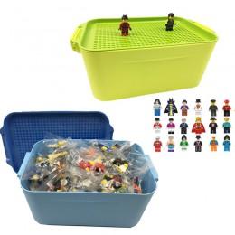 100 60 miasto kompatybilne klocki DIY Legoingly schowek chłopiec dziewczyna zabawki prezent cegły miniaturowe figurki dla dzieci