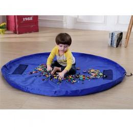 Wodoodporna nylonowa torba do przechowywania duży pojemnik na zabawki organizer Le go mata mata do zabawy Kid dzieci zabawki dla