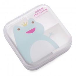 Dzieci mały uroczy plastikowe pudełko na pigułki apteczka dla zdrowej opieki puste pudełko na leki organizer biżuterii tabletki