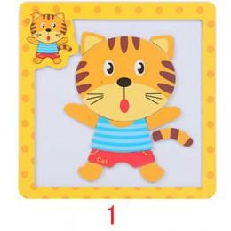 Zabawki montessori drewniane zabawki edukacyjne dla dzieci puzzle edukacyjne dla małych dzieci 3D magnetyczne puzzle matematyczn