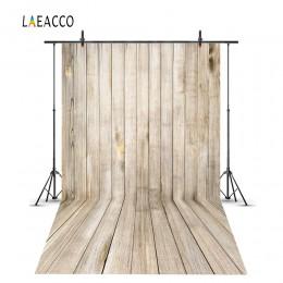 Laeacco deski z twardego drewna dziecko urodziny dziecka na przyjęcie do tortu Smash Photo Backdrops fotograficzne tła Photocall