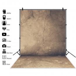 Laeacco Photo tła stary Cement tekstura ściany Party dziecko jednolity kolor tła do fotografii portretowej Photocall Photo Studi