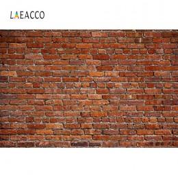 Fotografia tła Laeacco stary ceglany mur Cement Party dziecko dziecko wzór portret fotograficzne tło do zdjęć Studio