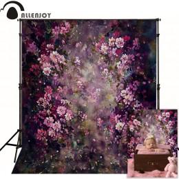Allenjoy kwiat fotografia tło wiosna ślub obraz w tle zdjęcie studio noworodka dziecko photophone photocall