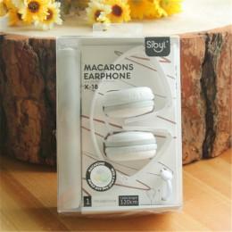 Urodziny prezenty śliczne słuchawki z mikrofonem cukierki kolor składany dla dzieci zestaw słuchawkowy słuchawki do smartfonów d