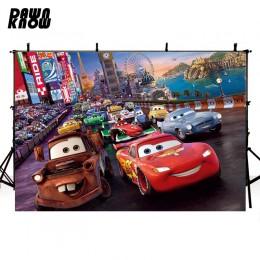 DAWNKNOW Vinyl fotografia tło dla zdjęcie dzieci strzelać kreskówka samochód poliester tła dla zdjęcie dziecka Studio G091