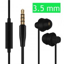Słuchawki douszne Soft Sleep 3.5 słuchawki typu C dla Xiaomi Redmi iPhone 7 Plus słuchawki do spania Huawei dla dzieci dzieci