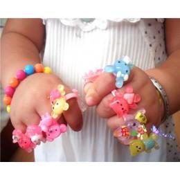 5 sztuk/zestaw pierścienie dla dzieci dziewczyny pierścień fajna biżuteria Anillos Anel sprzedaż Bijoux Femme prezent urodzinowy