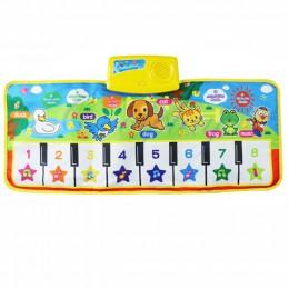 2019 gorąca sprzedaż Instrument muzyczny zabawka dla dzieci klawiatura dotykowa do gry Musical Singing Gym muzyka mata dywanowa