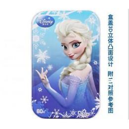 Gorąca sprzedaż Disney Frozen Car Disney 60 plasterek mały kawałek Puzzle zabawki dla dzieci drewniane Puzzle zabawki edukacyjne