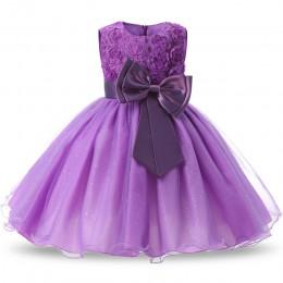 Dziewczyny pierwsza sukienka urodzinowa dla nowonarodzonego dziecka maluch księżniczka Halloween karnawałowe sukienki dla dzieci