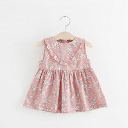 BNWIGE lato noworodka dziewczynka sukienka bez rękawów druku łuk niemowląt sukienka dla dzieci urodziny Party księżniczka sukien