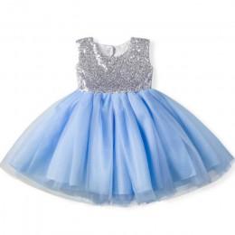 Różowy Backless księżniczka złoty łuk sukienka dla dzieci na dziewczynę chrzest chrzest 1 urodziny noworodka prezent niemowlę Tu