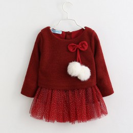 Bear Leader dziewczynek sukienka nowa z długim rękawem księżniczka sukienka dzieci ubrania sukienka dla dzieci + ananas plecak n