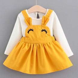 Sukienka Menoea 1 rok sukienka urodzinowa styl jesienny odzież dziecięca baby girl suknie do chrztu noworodka sukienka z tutu su