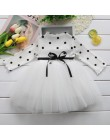 Elegancka sukienka dla dzieci dziewczynki modna oryginalna z długim rękawem zabudowa pod szyję rozkloszowana