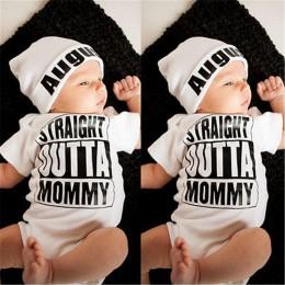 Gorąca sprzedaż biały noworodka dziewczynka chłopiec ubrania body Romper kombinezon stroje jednoczęściowe 0-18M