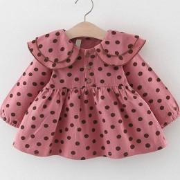 Nowe zdobienie zestawy ubrań dla niemowląt wiosna jesień 2 szt. Dziewczynek ubrania drukowanie sukienka dla dziewczynek na impre