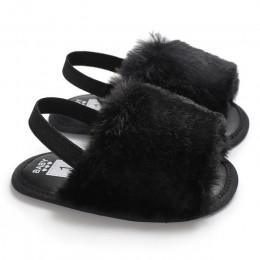 Słodki niemowlę maluch dziewczynek sandały dziewczyny miękkie podeszwy buty Casual Prewalker letnie buty 0-18M