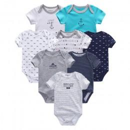2019 8 sztuk/partia zestawy odzieżowe bawełna noworodka jednorożec dziewczynka ubrania body ubrania dla dzieci Ropa bebe Baby Bo