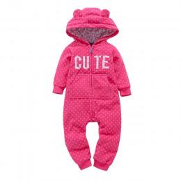 2019 jesień zima ciepłe niemowlę śpioszki dla niemowląt koral polar zwierząt ogólnie Baby Boy Gril Halloween strój świąteczny ub
