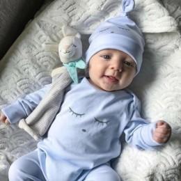 0-18M maluch niemowlę dziewczynek chłopców Romper 2019 nowy kombinezon spodnie Soild odzież z długim rękawem zestaw ubrań hurtow