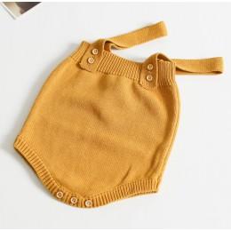 Szydełkowane dla dziecka pajacyki śliczne kombinezony noworodków dziewczynek chłopców ubrania Infantil dziewczynka chłopiec komb