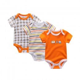 2019 3 sztuk/partia jednorożec Baby Boy ubrania noworodka dziewczynka ubrania 100% bawełna 0-12M body dziewczyny odzież Roupas d