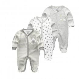3 sztuk/partia newbron zima śpioszki dla niemowląt zestaw z długim rękawem bawełna dziecko junmpsuit dziewczyny ropa bebe baby b