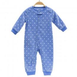 2019 ubranka dla dzieci bebes kombinezon kołnierz polar noworodka piżamy niemowlęta boys Baby ubrania maluch chłopcy ubrania kom