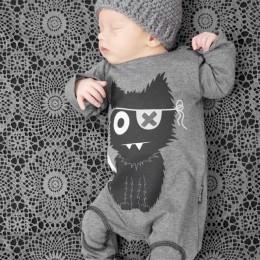 TANGUOANT gorąca sprzedaż Cartoon Baby Boy ubrania z długim rękawem śpioszki dla niemowląt noworodka bawełna ubranie dla dziewcz