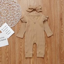 kombinezon dziecko ubranka dla niemowlat baby baby boy clothe 2sztuk Baby Girl ubrania chłopiec bawełna z dzianiny Romper kombin