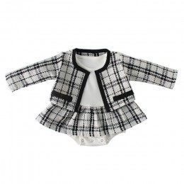 Moda śpioszki dla niemowląt dla dziewczynek chusta dla niemowląt kombinezon dla niemowląt śpioszki dziewczęce z płaszczem kombin