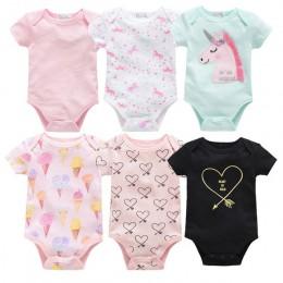 2019 6 sztuk 3 sztuk lato nowa dziewczynka body Cute Cartoon noworodka chłopięcy kombinezon jednoczęściowy dla niemowląt ogólnie