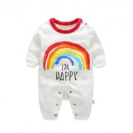 2020 noworodków chłopców dziewcząt pajacyki kombinezon z długim rękawem mody wiosną i jesienią chłopców ubrania dla dżentelmenów