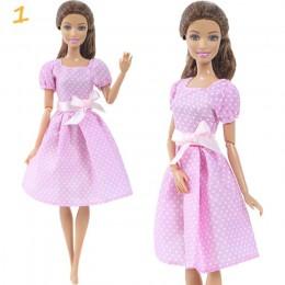 1 zestaw moda Multicolor strój rozkloszowana spódnica sukienka koszula Denim siatka spódnica codzienna odzież akcesoria ubrania
