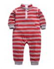 Pajacyki dziecięce niemowlęce ciepłe polarowe bawełniane tanie śmieszne kolorowe we wzory