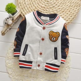 Edycja wiosenna i jesienna Cardiga sweter z guzikami kurtka sportowa kreskówka bawełna długi rękaw dziecięcy modny płaszcz chłop