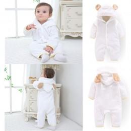 Orangemom oficjalne noworodki zimowe ubrania niemowlę dziewczynek ubrania miękkie polary znosić pajacyki noworodki-12 m chłopiec