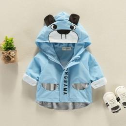 2019 wiosna jesień dziewczynka ubrania Totoro chłopcy kurtka z kapturem płaszcz dla dzieci cartoon dzieci płaszcz maluch 3-24M b