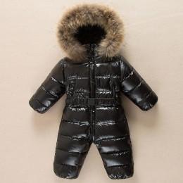 -30 stopni baby girl kombinezony rosja ubranka niemowlęce na zimę odzież na śnieg dół kurtki kombinezony dla dzieci płaszcze chł