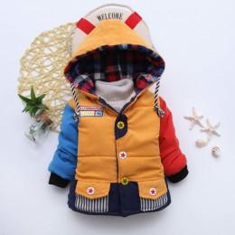 Niemowlę płaszcz 2019 jesienne zimowe kurtki dla dzieci dla kurtka dla chłopców dzieci ciepłe kurtki płaszcze dla dziewczynek ku