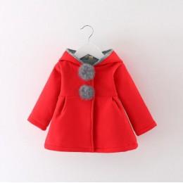 Nowonarodzone dziewczyny płaszcz dziecko jesień kurtka wiosenna dzieci niemowlę królik długie uszy bluzy bawełna bebe odzież wie