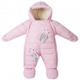-30 stopni 2019 noworodki w stylu pajacyki mroźna zima ciepłe dziecko snowsuit dziewczyna ubrania chłopcy kombinezony cute Carto