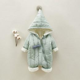Dziecięce kurtki z polaru dziecięce dziecięce zimowe bawełniane kombinezony ukośny zamek błyskawiczny Design dziewczynka noworod