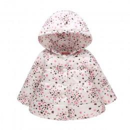 Dla dzieci dziewczyny chłopcy kurtki dla dzieci odzież dla dzieci z kapturem płaszcze zimowe maluch ciepłe Cartoon Minnie Mickey